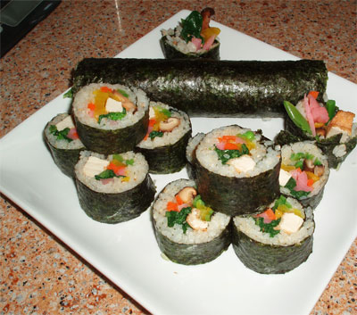 eho maki - good luck sushi