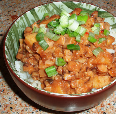 mapo sweet potato