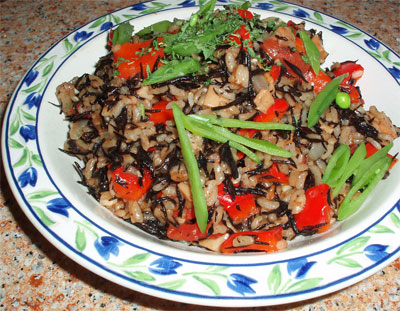 ... thought » Blog Archive » savory hijiki (dried seaweed) risotto
